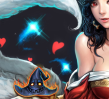 League of Legends - Asian Ahri Sticker