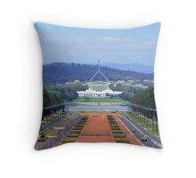 Parliament house canberra Throw Pillow