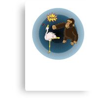 Crane Style Versus Monkey Fist Canvas Print