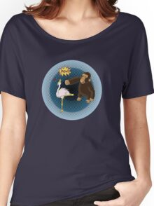 Crane Style Versus Monkey Fist Women's Relaxed Fit T-Shirt