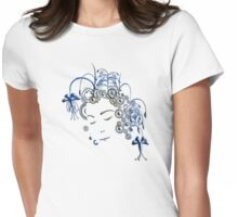 Oriental Womens Fitted T-Shirt