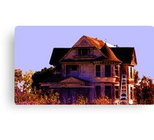 This Creepy Old House Canvas Print