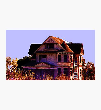 This Creepy Old House Photographic Print
