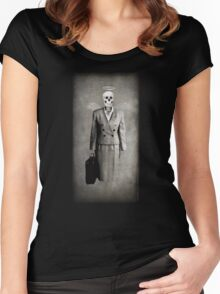 Corporate Slavery Women's Fitted Scoop T-Shirt