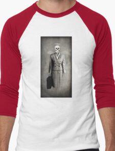 Corporate Slavery Men's Baseball ¾ T-Shirt