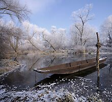 The Old Boat by Philippe Sainte-Laudy