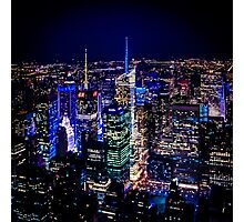 Lone Neon Nights Photographic Print