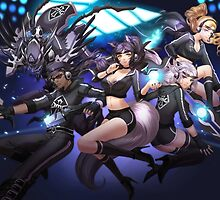 League of Legends - OMG Team by ghoststorm