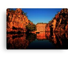 Reflections at Katherine Gorge Canvas Print