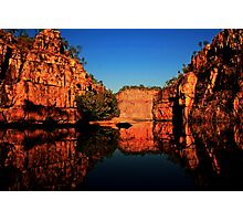 Reflections at Katherine Gorge Photographic Print