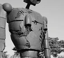 Lonesome Robot by dennischoong