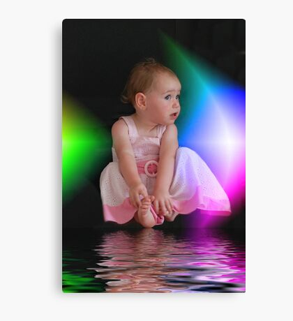 Rainbow Doll Canvas Print