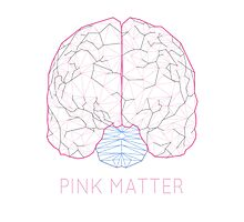 Pink Matter Photographic Print