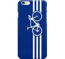 Bike Stripes White x 3 iPhone Case/Skin