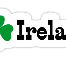 I Shanrock Ireland Sticker
