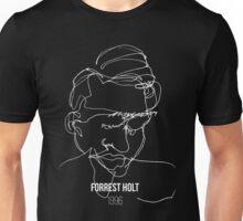 Blind Contour (black) Unisex T-Shirt