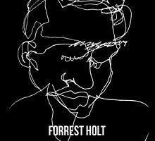 Blind Contour (black) by Forrest Holt