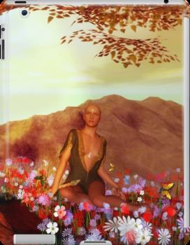 The high Priestess'... by Valerie Anne Kelly