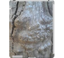Part of bark less tree iPad Case/Skin