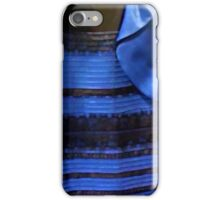 Famous blue black dress iPhone Case/Skin