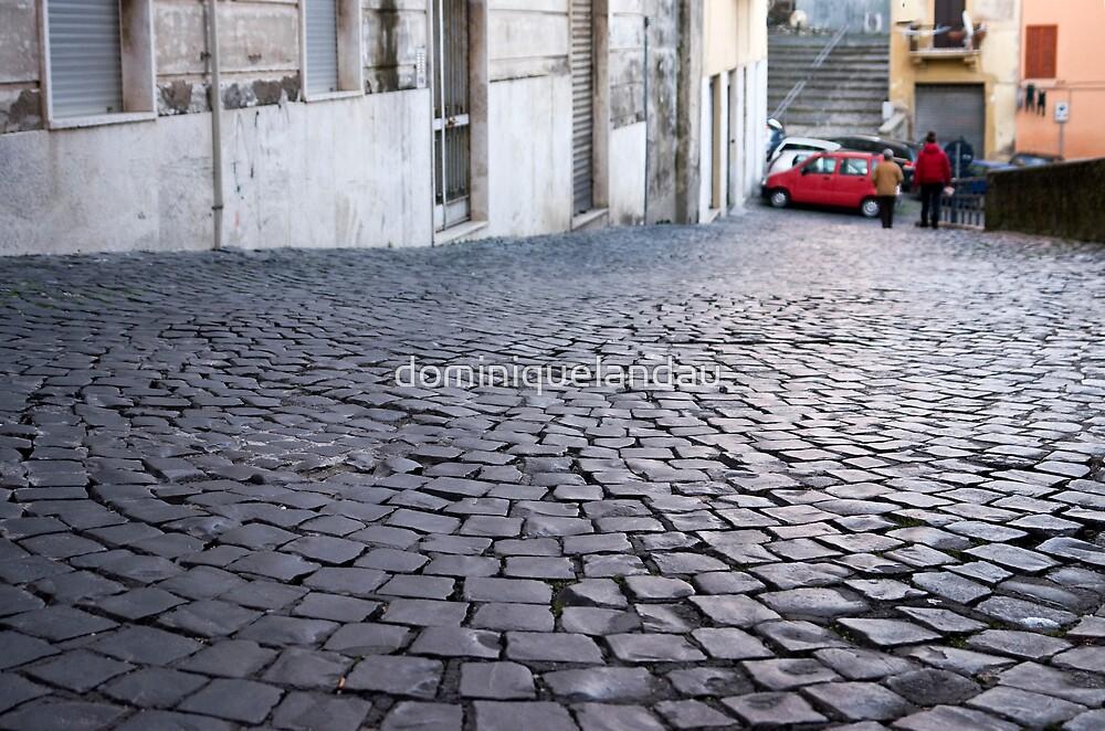 pebble street by dominiquelandau