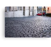 pebble street Canvas Print