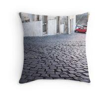 pebble street Throw Pillow