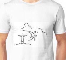 Rio janeiro Christ copacabana Unisex T-Shirt