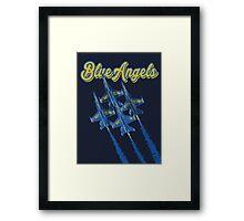 Blue Angels v2 Framed Print