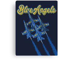 Blue Angels v2 Canvas Print