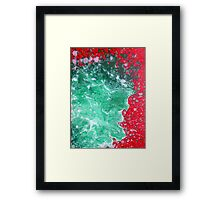 Better Than Ever Abstract Framed Print