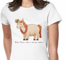 Bombur the Unicorn Womens Fitted T-Shirt