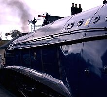 Sir Nigel at Grosmont by Trevor Kersley