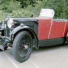 1920's MG Sports Car. by Edward Denyer