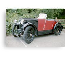 1920's MG Sports Car. Canvas Print
