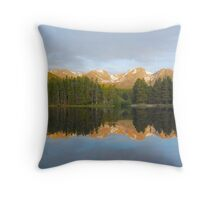 Morning Reflections, Sprague Lake Throw Pillow