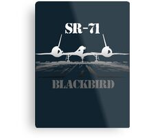SR 71 Blackbird Metal Print