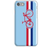 Bike Stripes British National Road Race iPhone Case/Skin