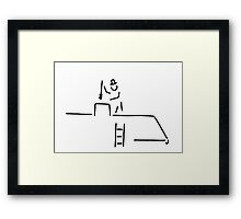 chimney-sweep Framed Print