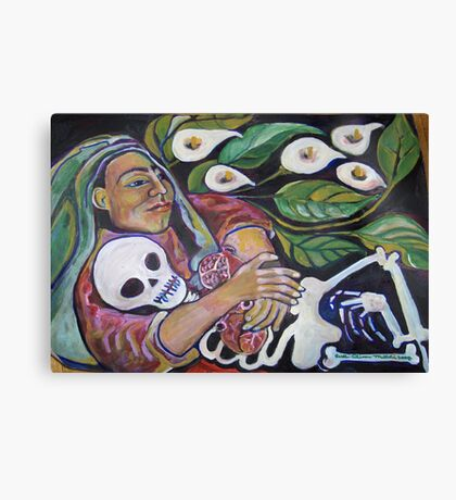 """""""I am Your Mother"""" by Ruth Olivar Millan (Cuca) Canvas Print"""