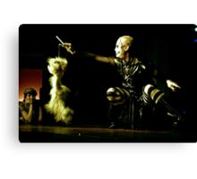 Puppetshow Canvas Print