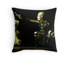 Puppetshow Throw Pillow