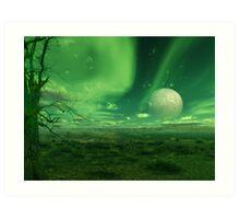 Iscariot's Moon Art Print