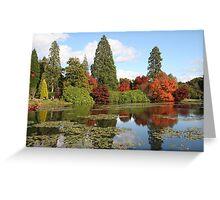 sheffield park england Greeting Card