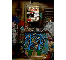 Graffiti and Lightbox Hosier Lane Photographic Print