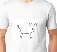 pig piglet make a mess Unisex T-Shirt
