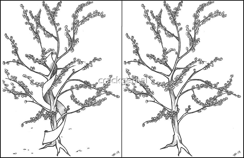 Apple Tree Tattoo by crackgerbal