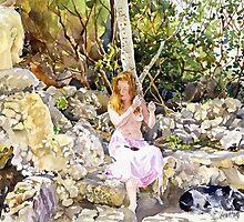 La Fuente de San Pedro by Margaret Merry