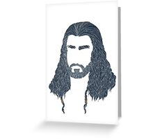 Oakenshield Greeting Card