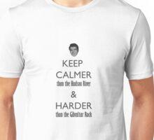 Keep Calmer Revisited Unisex T-Shirt
